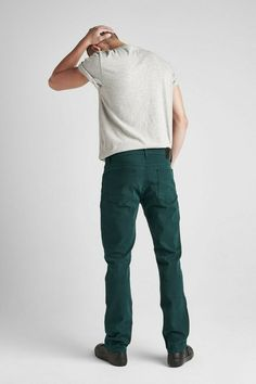 NWT Nautica Men/'s 32 x 34 Burgundy Red Straight Leg Stretch Fit Corduroy Pants