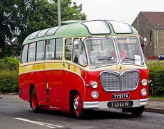 1960 Bedford C5Z21 bus