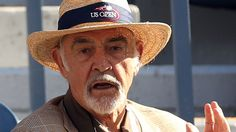 Sean Connery supporting Andy @ USO 2012 Final