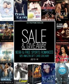 14 incredible sport romances available to download today for #free or #99¢ for a limited time only. Check them out today. Be sure to also enter the $25 Amazon gift card giveaway! #sportsromanceHT #…