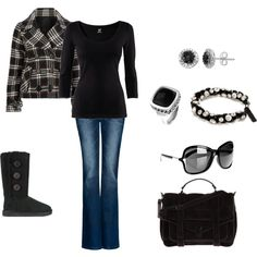 B Winter, created by missy5978 on Polyvore