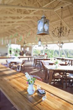 Wedding Reception Tables >> http://www.greatamericancountry.com/living/lifestyles/sarah-darlings-rustic-bohemian-wedding-pictures?soc=pinterest