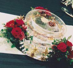 フローラアンジェリカの花仕事 クリスマスの会場装花