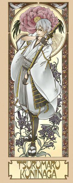 【刀剣乱舞】アールヌーボー風刀剣男士イラストまとめ|刀剣速報-刀剣乱舞まとめブログ-