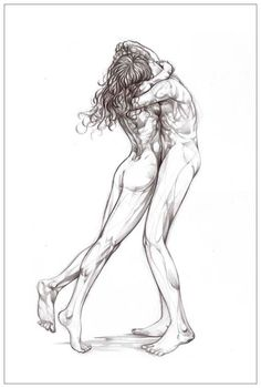 Drawing from HUGS series  Giclée print by miltonjuan on Etsy, $52.00