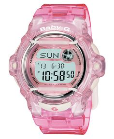 Baby-G - such a cute watch! At Macy's...