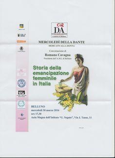 Storia della emencipazione femminile in Italia | AMI - Associazione Mazziniana Italiana