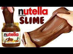 DIY NUTELLA SLIME   EASY DIY Toys for Kids - YouTube