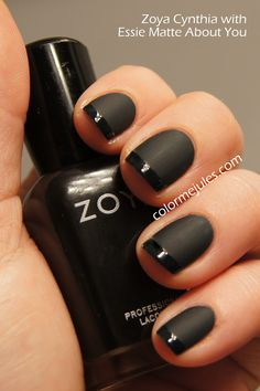 Color Me Jules: Zoya Cynthia French Manicure