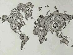 Mapa mundi Zentagle