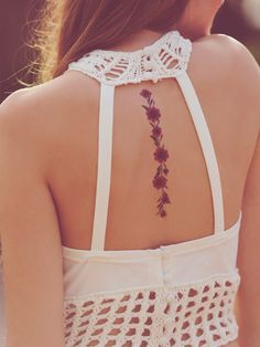 Free People Dried Flower Tattoos, $18.00