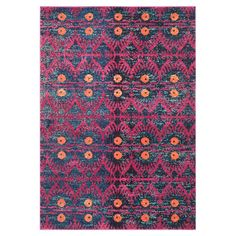 Add a touch of bohemian style to your living room or bedroom with this rug, featuring a colourful exotic design.  Product: Rug