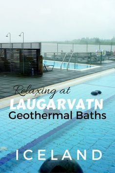 Guide and tips for visiting Laugarvatn Fontana Geothermal Baths in Iceland including visiting the geothermal bakery for the rye bread experience.