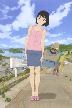 Watch A Letter to Momo 2012 Full Movie Online Free