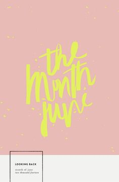 graphic design inspiration / color scheme    / typography / hand lettering