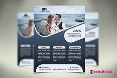 Video Services Flyer. Flyer Templates. $2.00