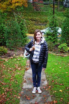 Bianca going to school #2