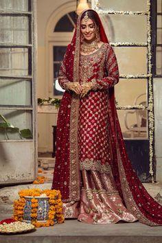 Pakistani Bridal Lehenga, Pakistani Bridal Couture, Pakistani Wedding Dresses, Pakistani Dress Design, Pakistani Outfits, Walima, Punjabi Wedding, Indian Bridal, Asian Bridal Dresses