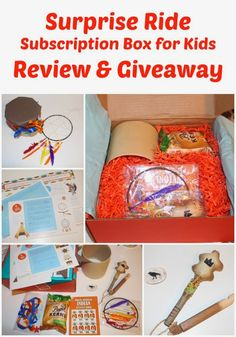 Enter to win a Surprise Ride Box, a box full of fun activities and learning for your child! #ad #SurpriseRide #Giveaway