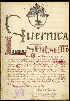 La documentación del archivo parroquial de Nuestra Señora de la Asunción (Santa María) de Gernika, en el AHEB-BEHA