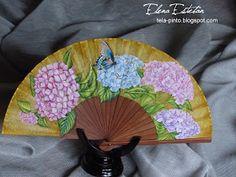 ¿Son las hortensias tus flores preferidas?   Son las preferidas de Francisca, y su abanico , está lleno de hortensias en diversos tonos. ...