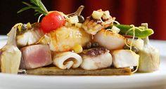 Grillade de poissons, sauce au citron et câpresVoir la recette >>