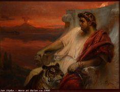 Nero, the fifth and last Roman emperor of the Julio-Claudian dynasty was born in Antium (Anzio)