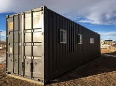 The Intellectual' Tiny Home is a 40-foot container loaded
