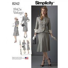 8242 - Vintage - Simplicity Patterns