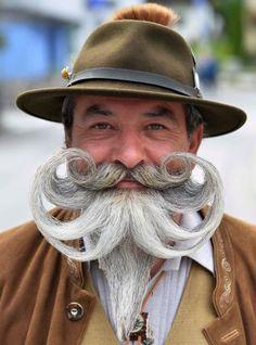 Austria World Beard Championship Abercrombie Men, Moustaches, Grey Hair Beard, Top Image, Hair And Beard Styles, Long Hair Styles, Sams Hair, Beard Haircut, Aveda Hair