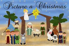 Picture a Christmas: A Christmas Lesson - great to use with Willowtree Nativity Set