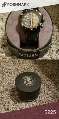 Citizens watch Authentic men's citizens watch, like new. No dings or scratches. Citizen Accessories Watches