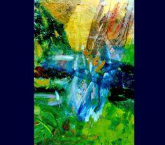 Huile sur toile Cimetière du Montparnasse