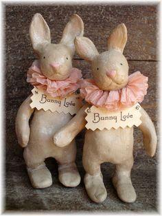 Bunny Love - Paper clay sweeties