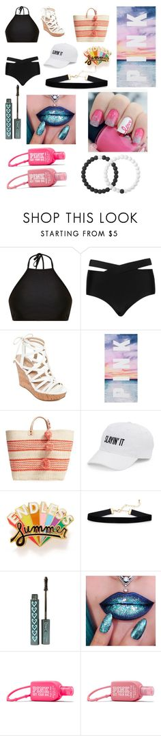 """Just Beachy!"" by volleyballisbae1 ❤ liked on Polyvore featuring Mix & Match, Cactus, GUESS, Mar y Sol, SO, ban.do and Lokai"