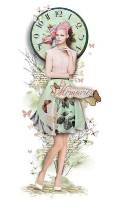 """""""Time Flies"""" by silverlining07 on Polyvore"""