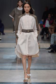 Sacai Spring 2014 Ready-to-Wear Fashion Show Collection