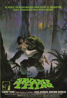 Swamp Thing Movie Ad  Source: Detective Comics #515, June 1982