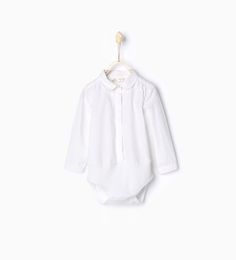 Shirt-style bodysuit