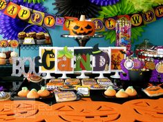 Not Scary Halloween party printables #halloween #party #printables #toddler #kids #candy