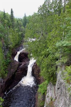 """1. Devil's Kettle, Judge C. R. Magney State Park...Yes Minnesota is more than """"oh, you're from that cold snowy place"""""""