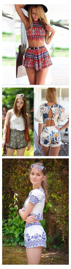 Women Two Piece Outfits, Great Summer Choice!