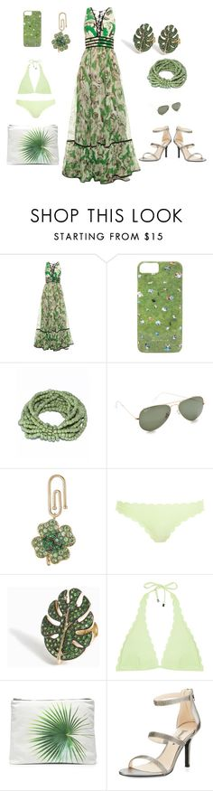 """The power Of Fashion"" by camry-brynn ❤ liked on Polyvore featuring Roberto Cavalli, Gray Malin, Ray-Ban, Aurélie Bidermann, Heidi Klein, Yvonne Léon, Samudra and Neiman Marcus"