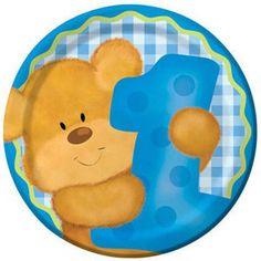 Bears 1st Birthday Party - Boy Small Plates