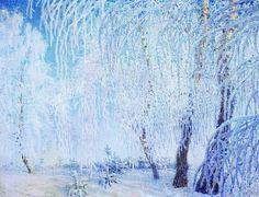 A Winter Morning, 1907  Igor Grabar (1871-1960)