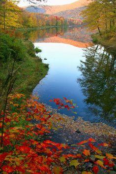 Autumn at the Catskills, New York #NewYork!!!