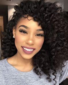 BlackHairClub: Black Women's Hair Style Guide, Fashion & Beauty Tips Beauty Makeup, Hair Makeup, Hair Beauty, Short Hairstyle, Trendy Hairstyles, Hair Inspo, Hair Inspiration, Curly Hair Styles, Natural Hair Styles