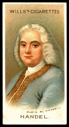 "https://flic.kr/p/8gQrNe | Cigarette Card - George Frideric Handel | Wills's Cigarettes ""Musical Celebrities A Series"" 1912. #2 George Frideric Handel 1685-1759"