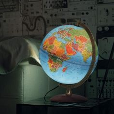 Lampada mappamondo ASTRA