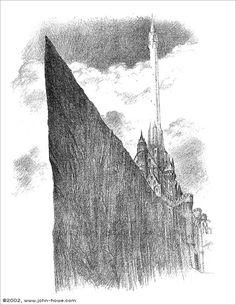 Minas Tirith by John Howe